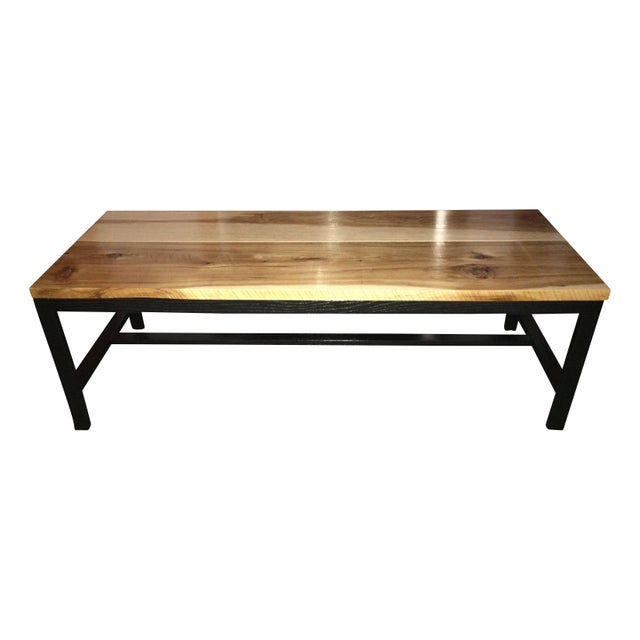 Reclaimed Wood Coffee Table Ireland: Reclaimed Hickory Wood Top Coffee Table