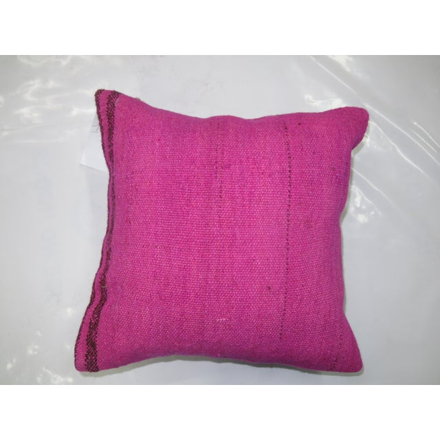 Pink Kilim Rug Pillow