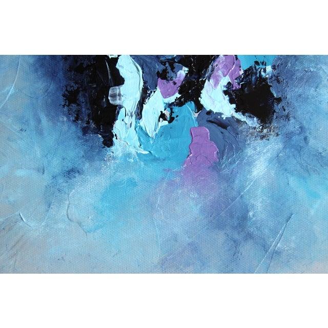 """Harbor Mist,"" Acrylic Painting - Celeste Plowden - Image 2 of 4"