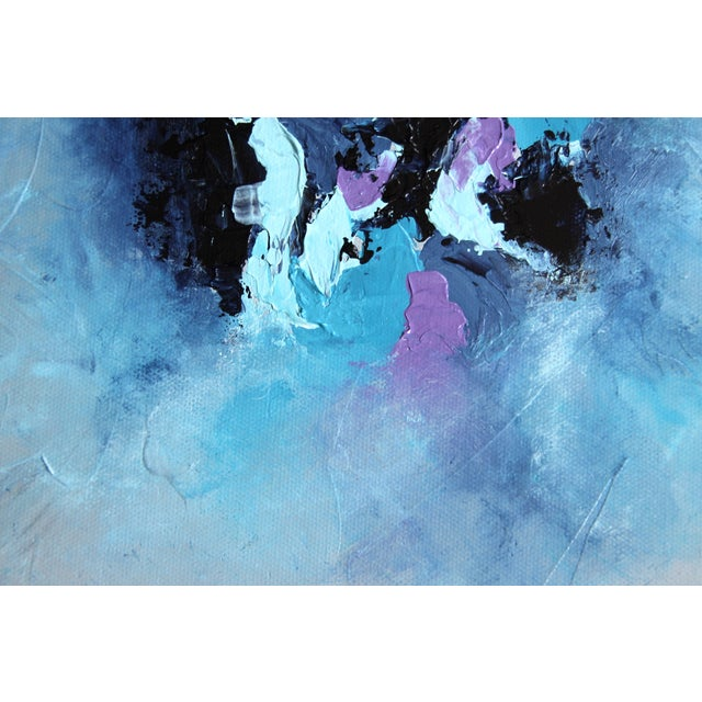 "Image of ""Harbor Mist,"" Acrylic Painting - Celeste Plowden"