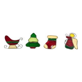 Whimsical Holiday Napkin Rings - Set of 4