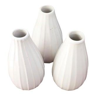 Mid-Century Ceramic Bud Vases - Set of 3