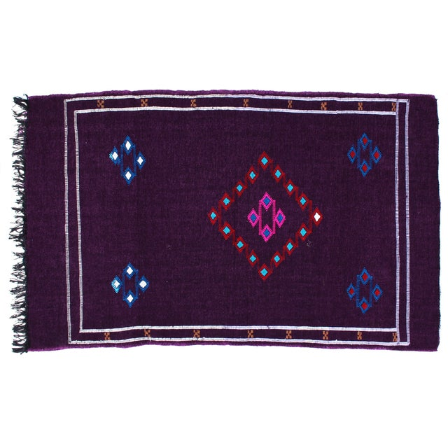 Moroccan Rug, 5'1'' X 3'1'' - Image 1 of 3