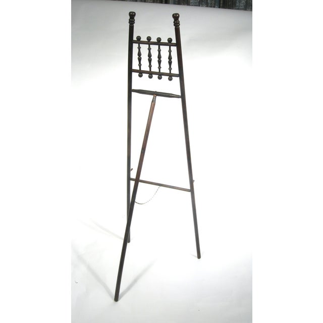 Antique Wood Display Easel - Image 7 of 7