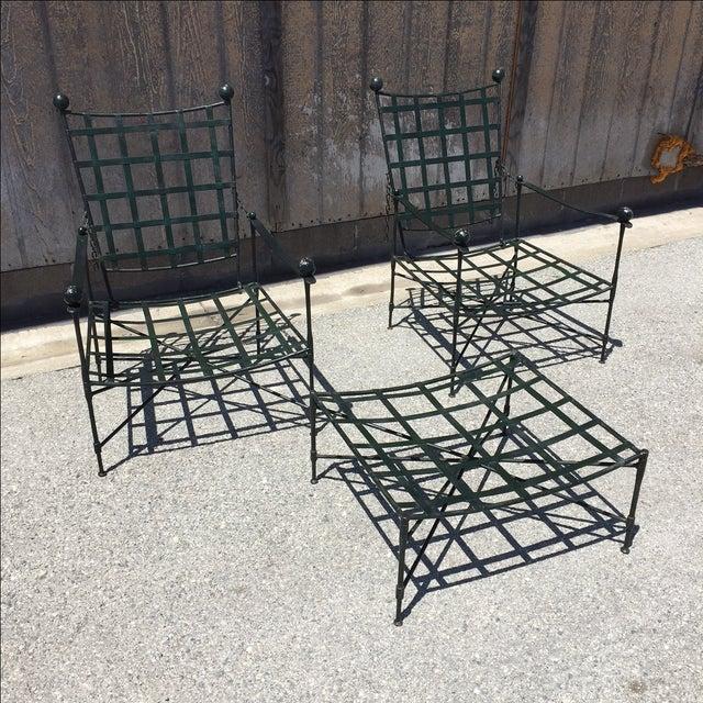 Mario Papperzini Salterini Lounge Chairs - Pair - Image 2 of 8