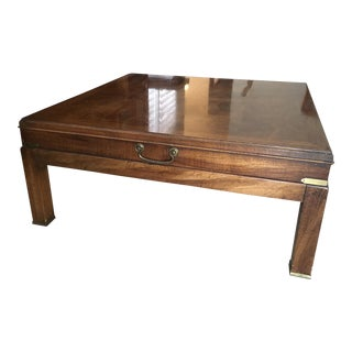 Lane Vintage Square Coffee Table