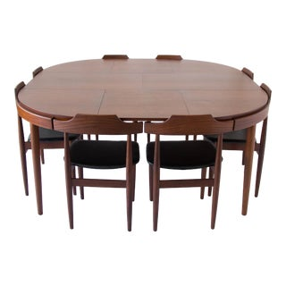 Hans Olsen for Frem Rojle 8-Seat Dining Set