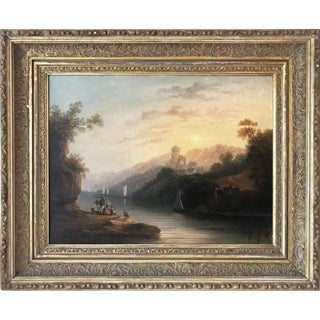 19th C European Romanticist Landscape