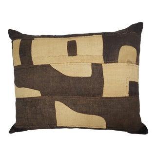 African Patchwork Kuba Cloth Pillow