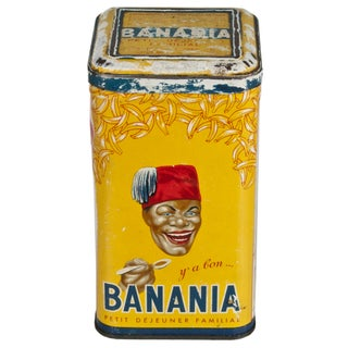 Vintage French Banania Tin