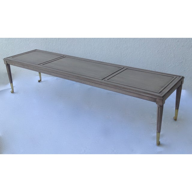 Italian Hollywood Regency Long Cocktail Table - Image 4 of 11