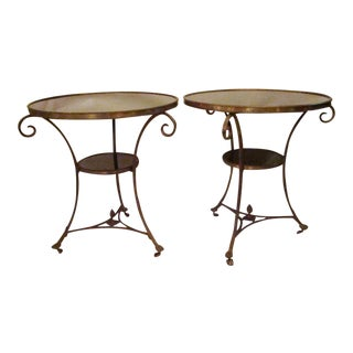 French Gueridon Side Tables - A Pair