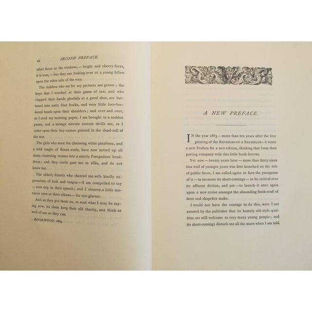 "Ik Marvel ""Reveries of a Bachelor"" 1884 Book - Image 4 of 4"