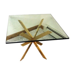 Pace Collection Double X Base Side Table