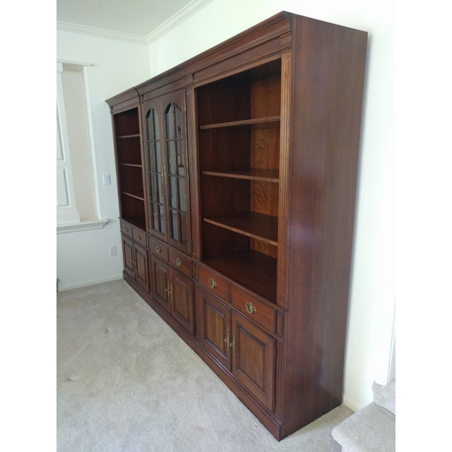Pennsylvania House Bookcase Wall Unit - 3 Pieces - Image 3 of 10