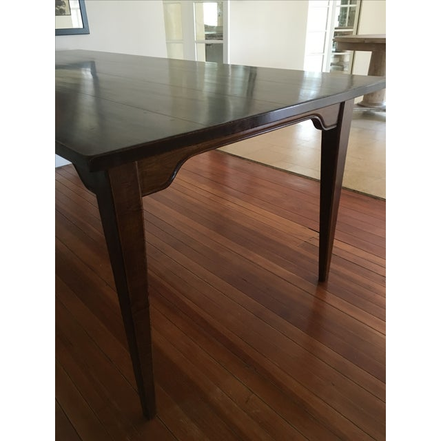 Traditional Solid Wood Dining Table - Image 4 of 5