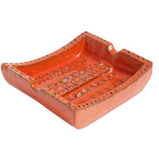 Italian Bitossi Ceramic Ashtray