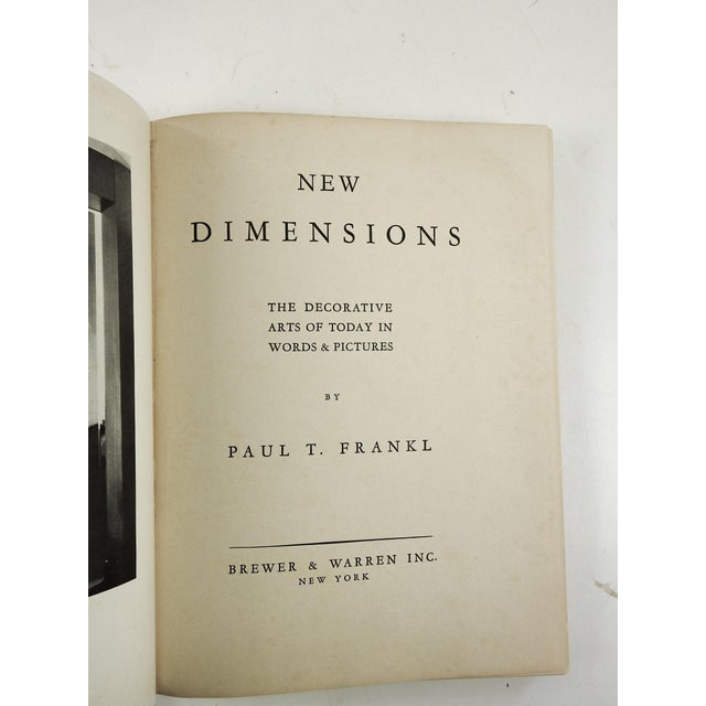 1928 'New Dimensions: The Decorative Arts' Book - Image 3 of 11