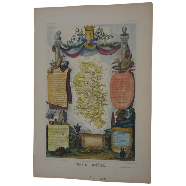 Levasseur Antique Province Of France Map - Image 1 of 3