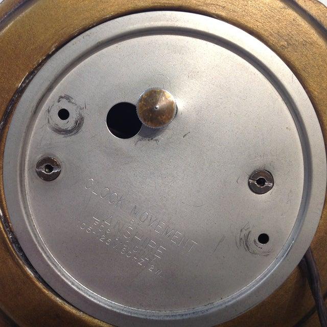 Cherub Ceramic Lanshire Mantle Clock Holland Mold - Image 6 of 10