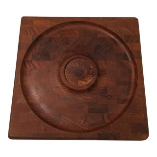 Mid-Century Kalmar Designs Teakwood Serving Tray