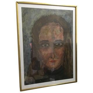 Mid-Century Elia Braca Portrait