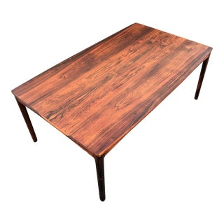 Mid-Century Modern Rosewood Coffee Table