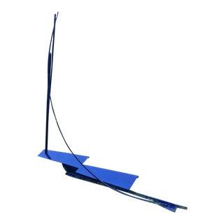 Steel Starboard Tack Matte Deep Blue, 2012 by Arden Scott