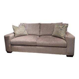 Massoud Textured Velvet Sofa