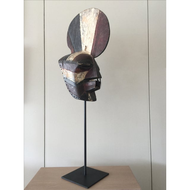 "Songeye Kiwebe ""Poilce"" Mask II - Image 2 of 5"