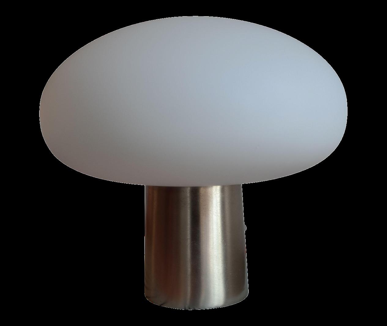 Vintage Laurel Mushroom Lamp : Chairish