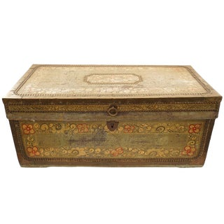 Japanese Painted Trunk