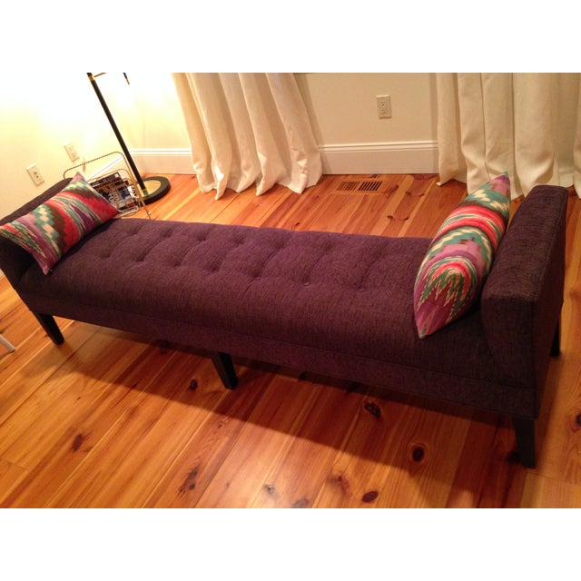 Mitchell Gold + Bob Williams Tufted Bench - Image 4 of 7