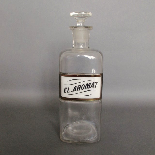Antique Labeled Apothecary Bottle - Image 2 of 9