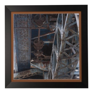 Sarreid LTD Framed Industrial Giclee Print