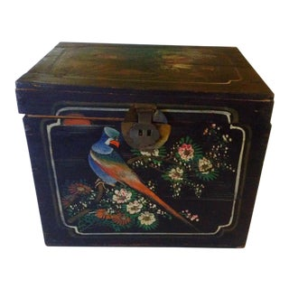 Antique Asian Chicken Box