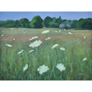 'Queen Anne's Lace on a Hot Summer Day' Painting