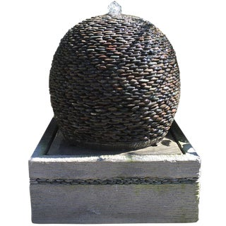 Pebble Ball Fountain
