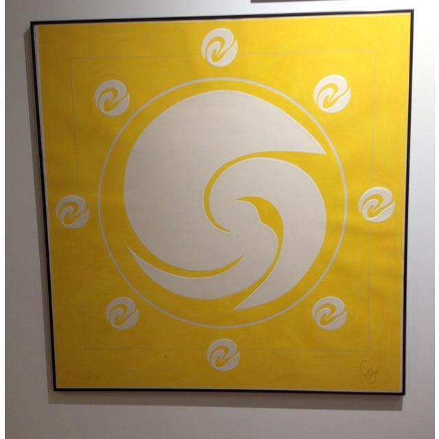 """""""Yellow Orbit"""" by Jack Youngerman - Image 3 of 5"""