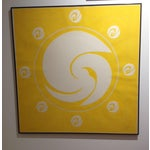 """Image of """"Yellow Orbit"""" by Jack Youngerman"""
