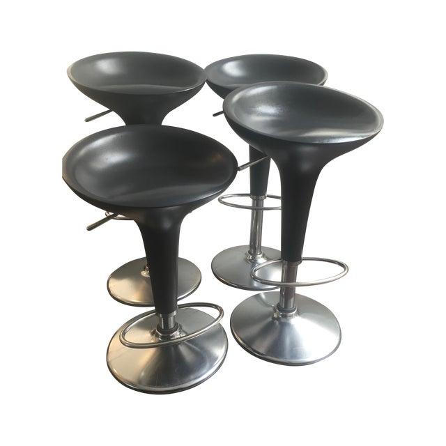 Bombo Adjustable Bar Stools - Set of 4 - Image 1 of 6