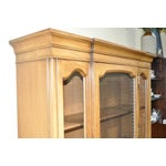 Image of French Provincial Walnut Cabinet