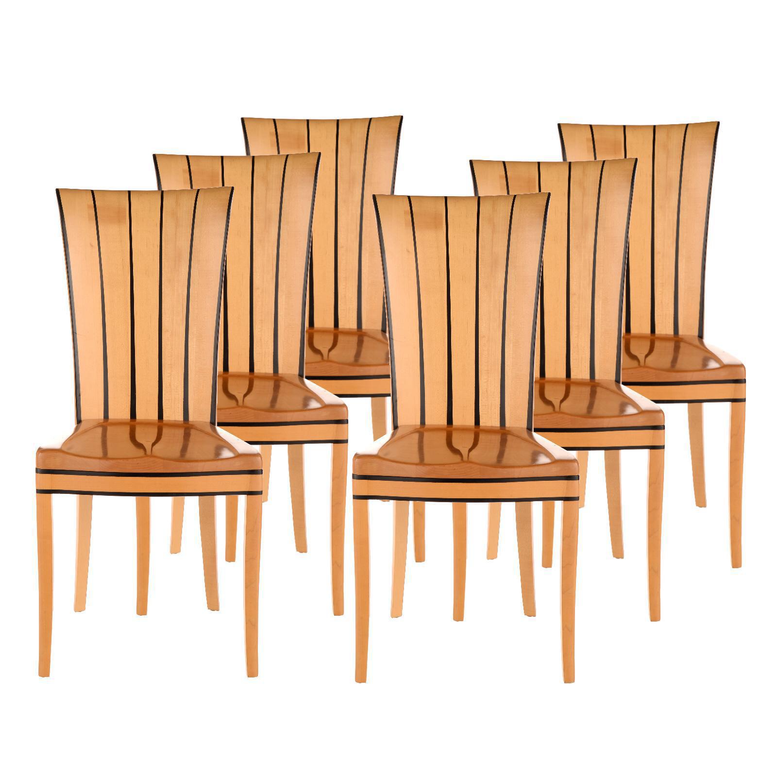 eliel saarinen for arkitektura dining chairs set of 6