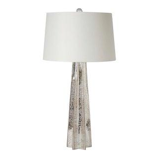 Tall Mercury Glass Star Lamp