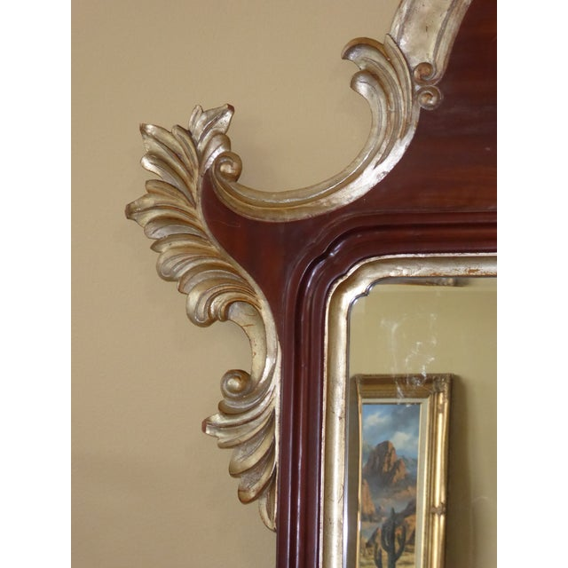 Large designer 8 feet tall french rococo gold brown wall for Tall gold mirror