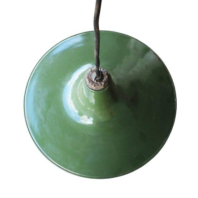 Image of Enamel Barn Light