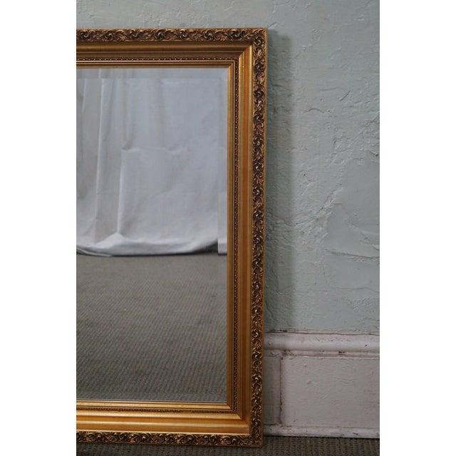 Image of Gilt Frame Beveled Mirror