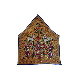 Indian Embroidered Banner