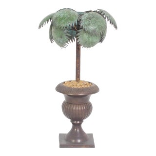 Palm Tree Potted Candlesticks