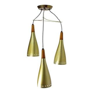 Three Pendant MCM Light